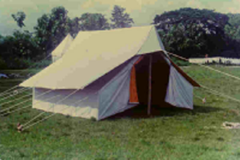 Officers Double Fly Tent